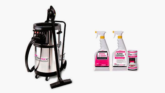 Dispositivo e produtos de limpeza