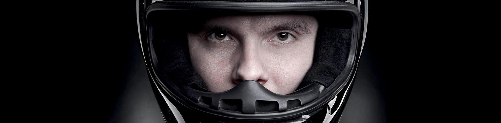 Higienização de capacetes de mota