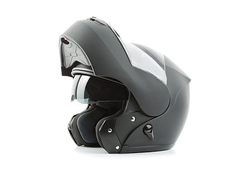 Higienización de cascos de moto