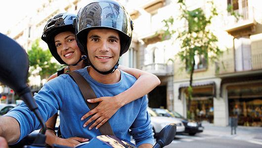 Servicio de desodorización de cascos de moto