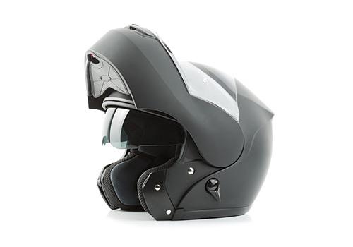 Limpeza de capacetes de mota
