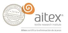 Certificado Oficial de Eliminación Antiácaros