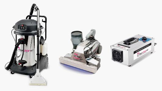Dispositivos de limpieza y desinfección UrbanCleaner